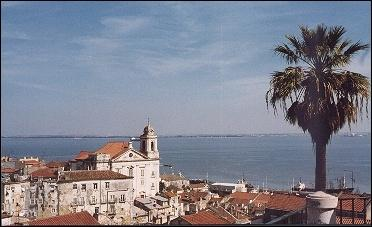 Portugal - Tagus river from Alfama