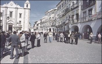 Portugal - Praça do Giraldo