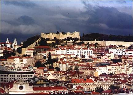 Portugal, Lisbon - Downtown and Castelo São Jorge