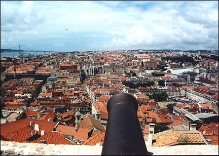 Portugal, Lisbon - View from Castelo São Jorge