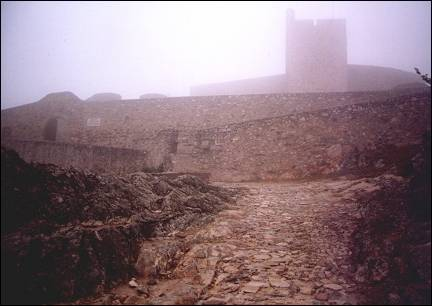 Portugal, Alentejo - Marvão, clouded fortress