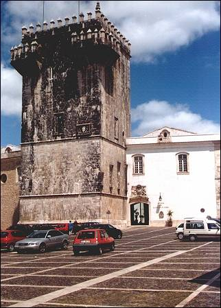 Portugal, Alentejo - Estremoz, the keep and the Dom Dinis palace