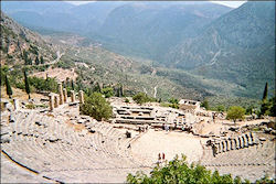 Travelogue Athens, Delphi and Peloponnesos with 27 photos