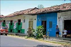Travelogue Bicycle vacation Panama with 20 photos