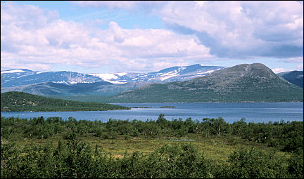 Sweden - Mountains in the western part of Lappland