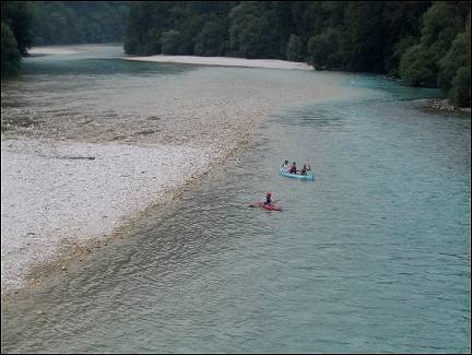 Slovenia - Canoeing on the Soca