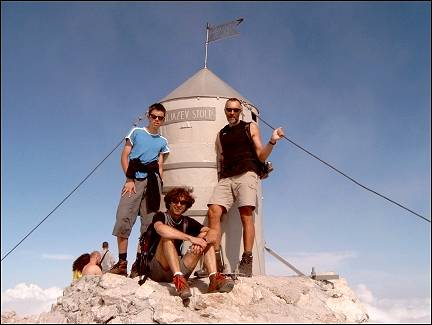 Slovenia - At the top of the Triglav