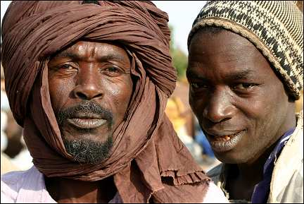 Senegal - Kafrine, two men