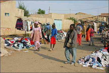 Senegal - Kaolack, second-hand clothes