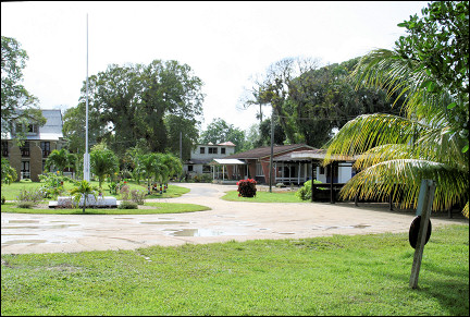 Suriname - Paramaribo, museum section Fort New Amsterdam