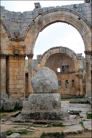 Syria - Remains of Simeon's pillar