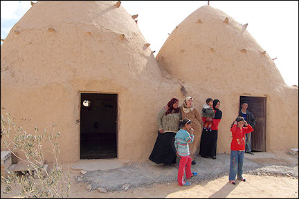 Syria - Beehive houses