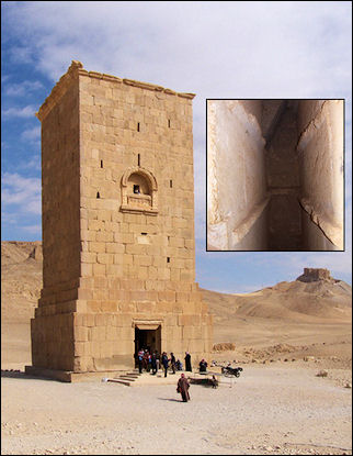 Syria, Palmyra - A tomb tower