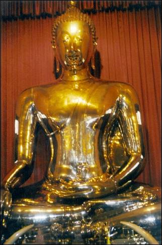 Thailand - Bangkok, the Golden Buddha