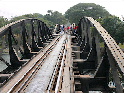 Thailand - Kanchanaburi, Bridge over the River Kwai