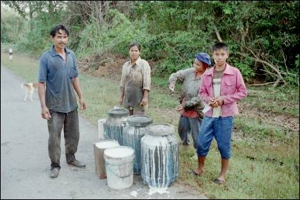 Thailand - Rubber tappers
