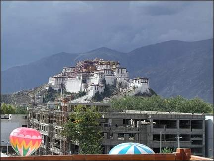 Tibet - Potala Palace in Lhasa