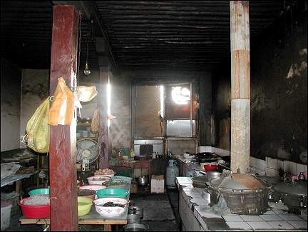 Tibet - Kitchen guesthouse