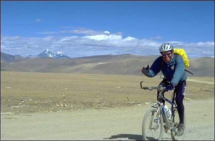Tibet - Lalung La (5,050 m) is the last pass before the descent into Nepal