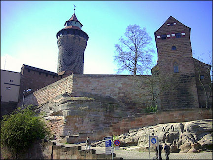 Germany, Nürnberg - Nürnberger Burg