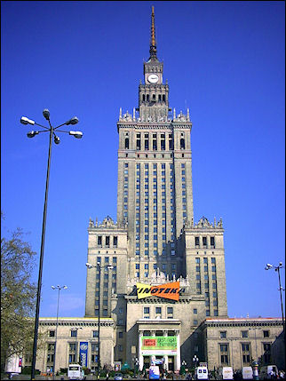 Poland, Warsaw - Culture and Science Palace