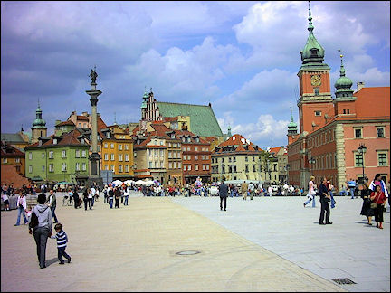Poland, Warsaw - Square near Royal Palace