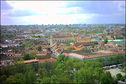 Lithuania, Vilnius - View from the Fortress Mountain