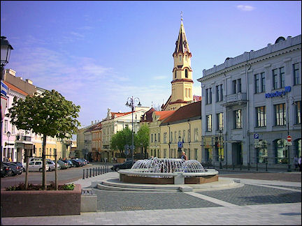 Lithuania, Vilnius - City center