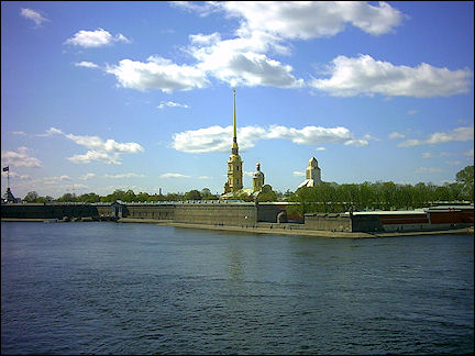 Russia, St. Petersburg - Peter and Paul fortress