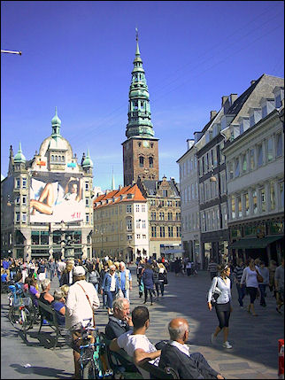 Denmark, Copenhagen - City center