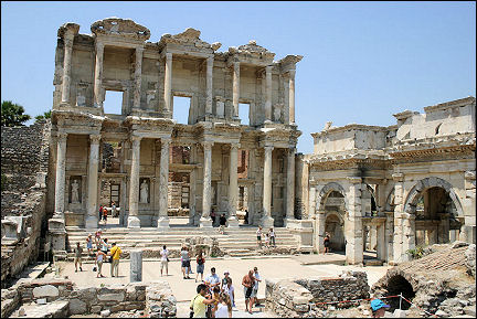 Turkey - Ephesus, Celsus library