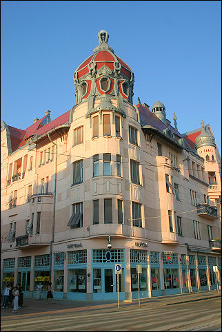 Hungary - Szeged, Art Nouveau building