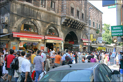 Turkey - Istanbul, street near the Bazar