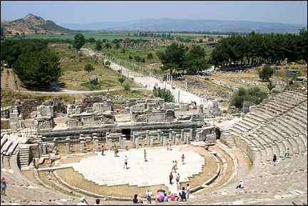 Turkey - Ephesus, Roman theatre