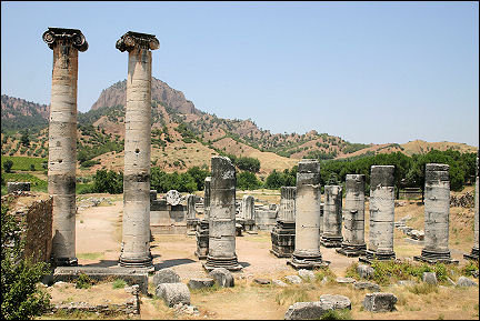 Turkey - Artemis Temple near Sardis