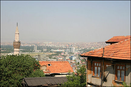 Turkey - Ankara, view from the citadel