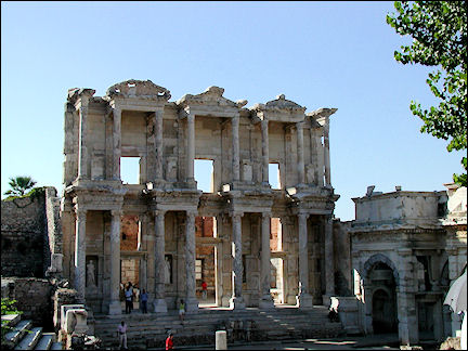 Turkey, West Anatolia - Ephesus, Celsius Library