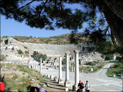 Turkey, West Anatolia - Ephesus, stadium