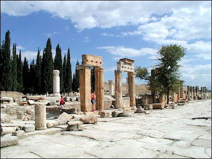Turkey, West Anatolia - Hierapolis