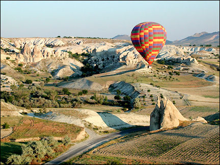 Turkey - Cappadocia, balloon ride Göreme