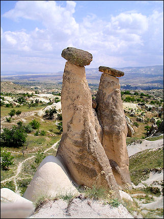 Turkey - Cappadocia, fairy chimneys Devrent Valley
