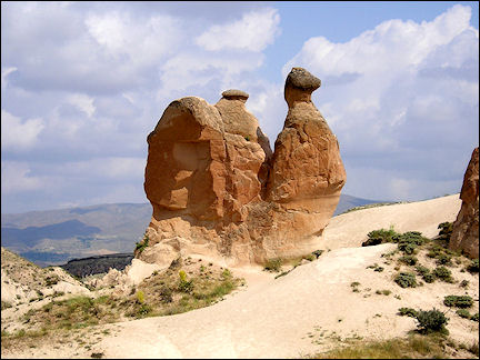 Turkey - Cappadocia, camel rock in Devrent-vallei