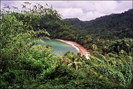 Trinidad and Tobago; - One of many beautiful bays along the northeast coast