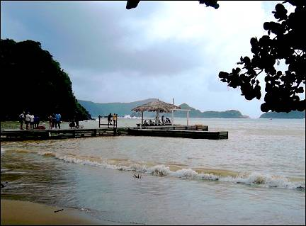 Trinidad and Tobago; - Diving pier at Blue Waters Inn