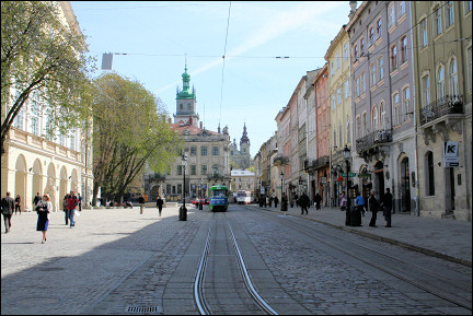 Ukraine - Lviv, center