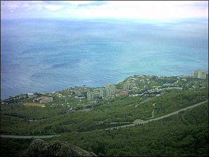 Ukraine - Crimea, view of the Black Sea