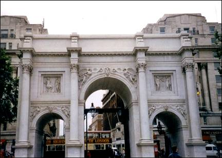 Great Britain, London - Marble Arch