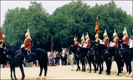 Great Britain, London - Horse Guard parade