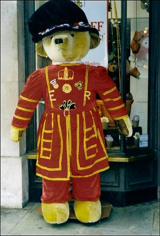 Great Britain, London - Teddy Beefeater