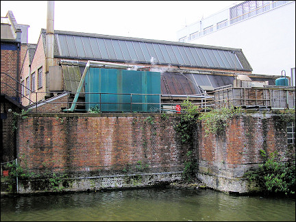United Kingdom, London - Industrial landmarks along Regent's Canal